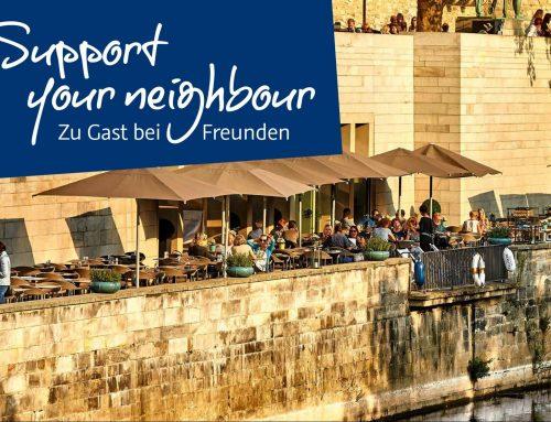 Einladung zum Besuch in Nachbarstädten